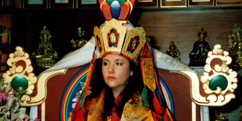 Jetsunma_akhon_lhamo_enthronement_1998