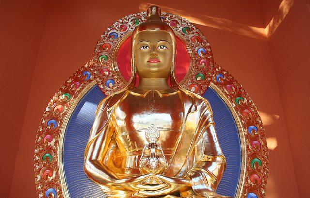 Vimalamitra-Statue