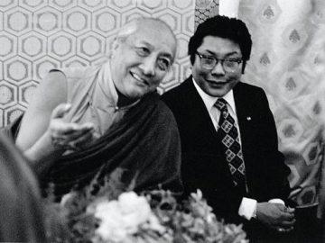 Dilgo Khyentse Rinpoche&Trungpa