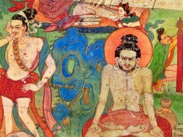 Lukhang-East-Wall-two-Mahasiddha-b-9-x-13-life-size-detail.