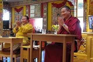 Sogyal+Rinpoche+and+Shechen+Rabjam+Rinpoche