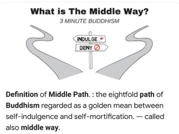 Middhle way