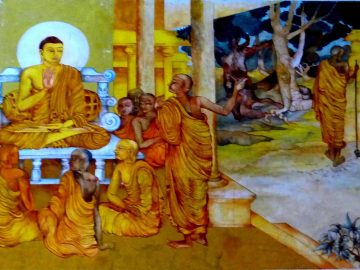 1200px-Nava_Jetavana_Temple_-_Shravasti_-_003_Arahat_Cakkhupala,_before_and_after_his_Blin